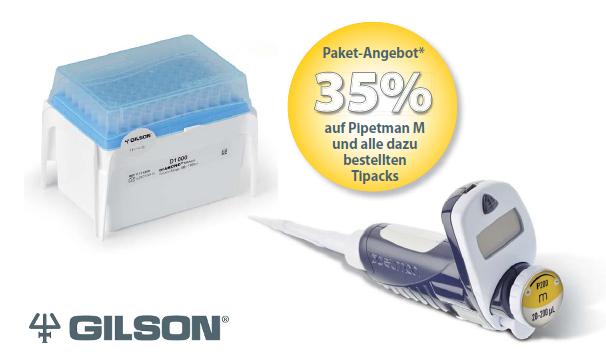 Gilson Pipetman M - elektronische Pipette