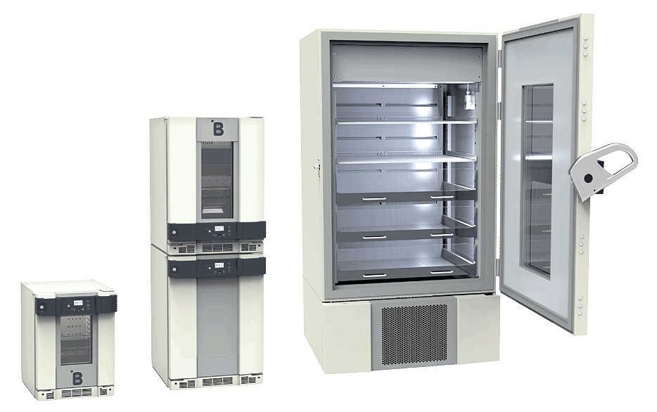 B Medical Systems Blutbank-Kühlschränke B-Serie