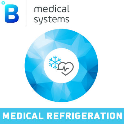 B Medical Systems Medical Refrigeration Logo