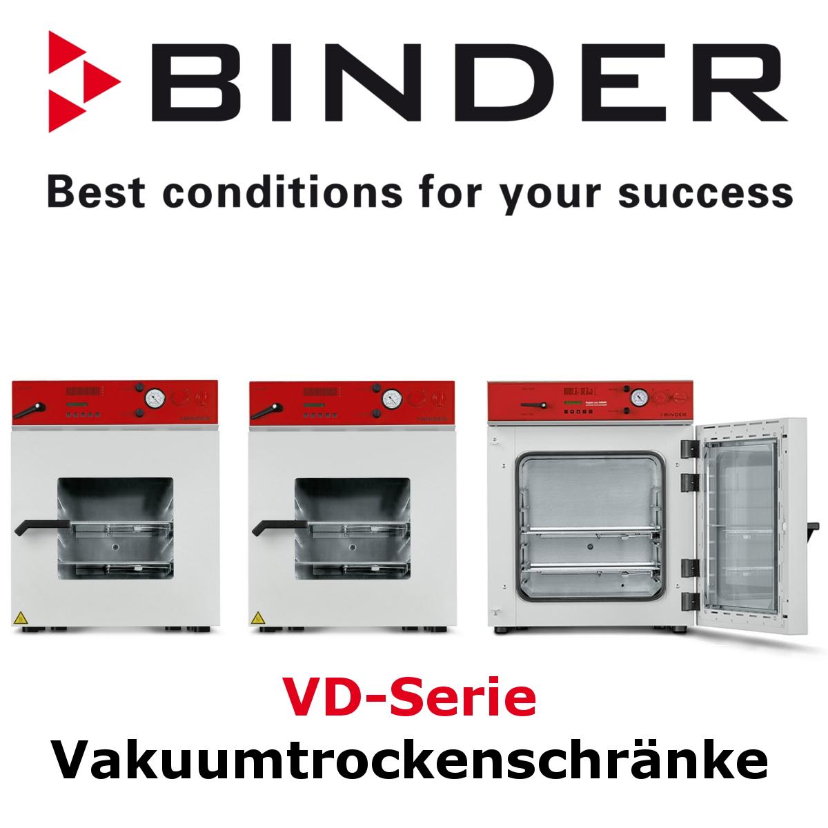 BINDER VD-Serie Vakuumtrockenschränke_Header