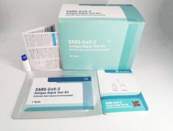 SARS-CoV-2 Antigen Rapid Test Kits Produktbild